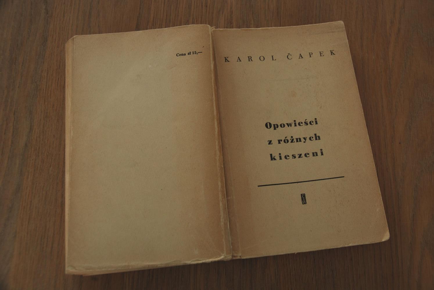 Karol Capek - Opowieści z różnych kieszeni