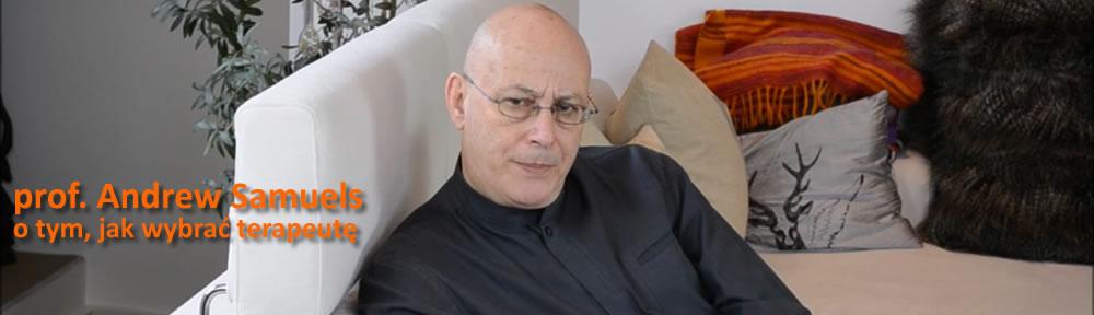 Prof. Andrew Samuels - jak wybrać psychoterapeutę