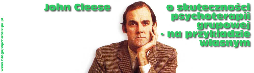 John Cleese o psychoterapii grupowej
